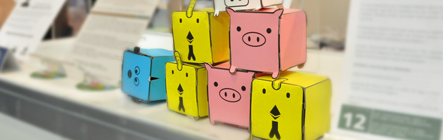 Paper toys FOFINHOS