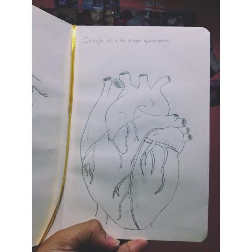 Coração não é tão simples quanto pensa