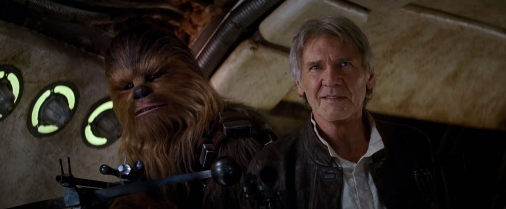 Chewie e Han Solo