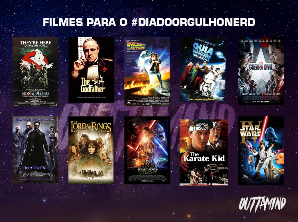 Filmes para o #diadoorgulhonerd