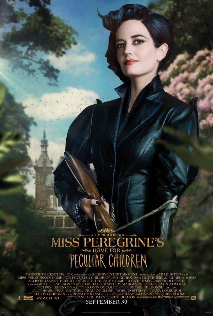 Eva Green como Senhorita Peregrine